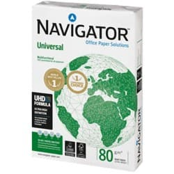 Navigator Universal Printer Paper A4 80gsm White 500 Sheets