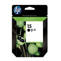 HP 15 Original Ink Cartridge C6615DE Black