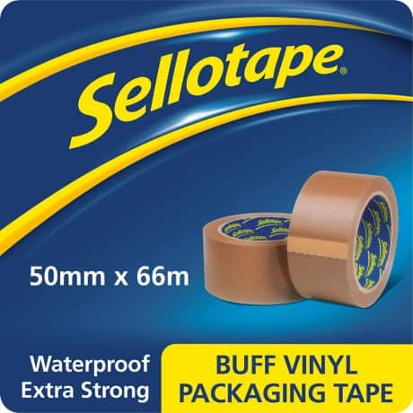 Sellotape Packaging Tape 1447026 50 mm x 66 m Brown