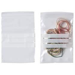 Niceday Grip Seal Bags With Write On Strip Clear 102 x 140 mm 1000 Per Pack