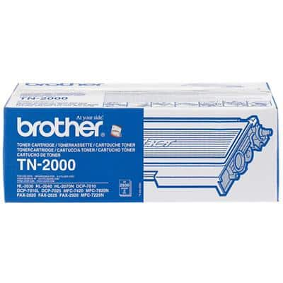Brother TN-2000 Original Toner Cartridge Black