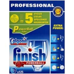 Finish Dishwasher Tablets Powerball fragrance free 125 pieces
