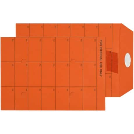 Niceday Internal Mail Envelopes c5 120gsm Orange plain ungummed 500 pieces