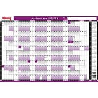Office Depot Unmounted Academic Year Planner 2020/2021 Purple