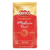 Kenco Westminster Medium Roast Ground Filter Coffee Bag 1kg