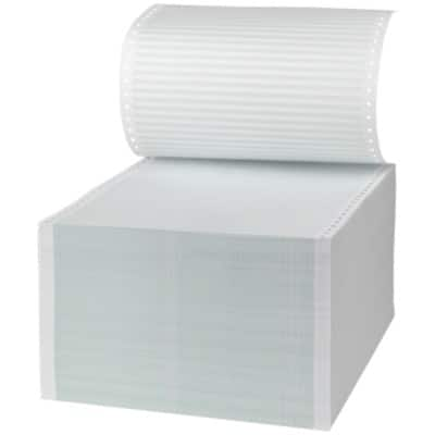 Niceday Listing Paper, 1 Part Ruled with Standard vp's, 279 x 241 mm, 60gsm