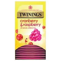 Twinings Cranberry, Raspberry and Elderflower Tea Bags 20 Pieces