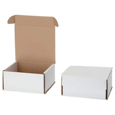 Postal Boxes White 155 (W) x 76 (D) x 75 (H) mm Pack of 10