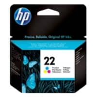 HP 22 Original Ink Cartridge C9352AE 3 Colours