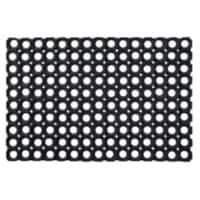 Floortex Doormat 4101522OCBK Black 150 x 100 cm