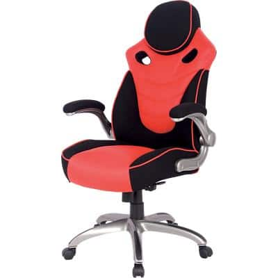 Realspace Gaming Chair HLC-1455 Basic Tilt Black / Red