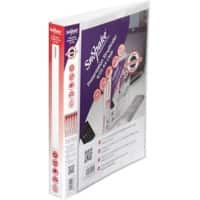 Snopake Presentation Binder A4 4 ring 40 mm Clear