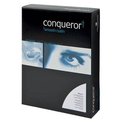 Conqueror Paper A4 100gsm Diamond White 500 Sheets