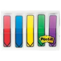 Post-it® Index Arrows - 5 colours (12mm) 100 flags