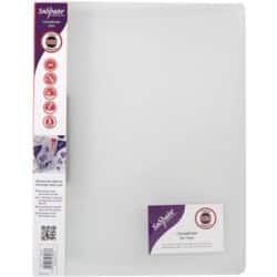 Snopake original Clamp Binder A4 20 mm Clear