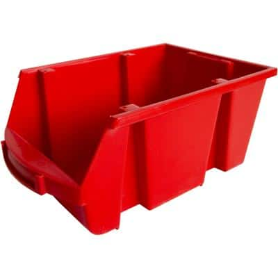 Viso Storage Bin SPACY4R Red 21.5 x 33.5 x 15 cm