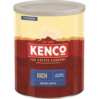 Kenco Rich Instant Ground Coffee Tin Freeze Dried 750g