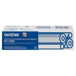 Brother Thermal Transfer Film PC72RF Black 2 pieces