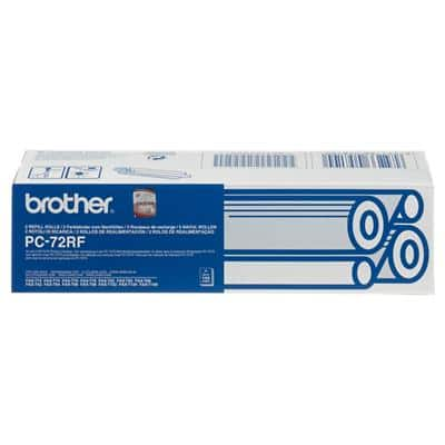 Brother Thermal Transfer Film PC72RF 8.1 x 15.1 x 2.8 cm Black Pack of 2