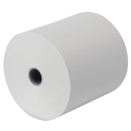 Cash Register Rolls 76 x 80 x 12 mm White 20 pieces