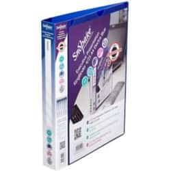 Snopake electra Presentation Binder A4 4 ring 40 mm Blue