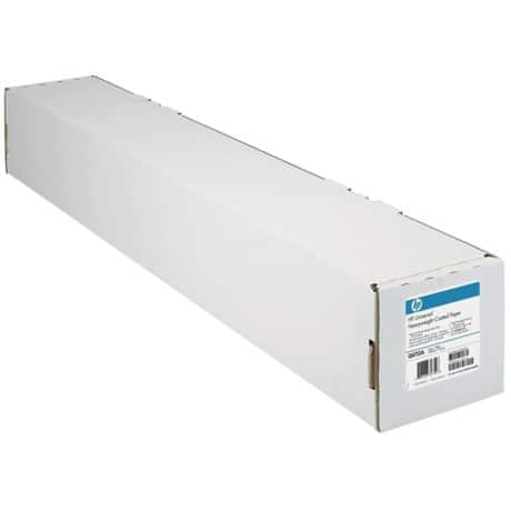 HP Large Format Coated Paper glossy 90gsm 610 mm x 45.7 m White