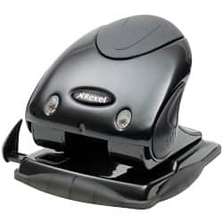 Acco Rexel 2 Hole Punch - Black