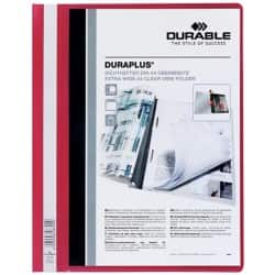 Durable Duraplus® Quotation File -Red