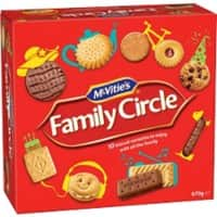 McVitie's Biscuits Family Circle 401152 670 g