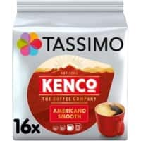 TASSIMO Americano Smooth Coffee Pods Pack of 16
