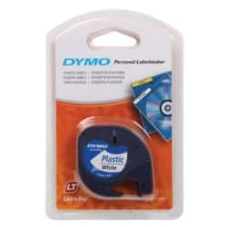 DYMO Label Tape 12 mm x 4 m black / white