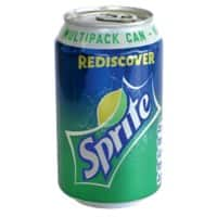 Sprite Soft Drink Can Lemon & Lime 330ml 24 Pieces
