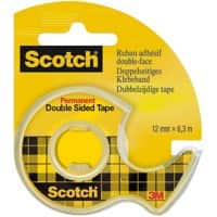 Scotch Double Sided Tape 665 Transparent
