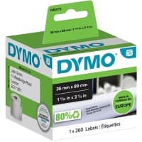 DYMO Address Labels 1983172 36 x 89 mm Black, White