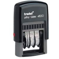 Trodat Ecoprinty 4820 Date Stamp Black 4 mm