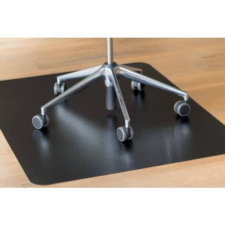 clear style` Chair Mat Hard Black 900 x 1,200 mm
