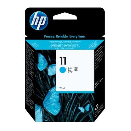 HP 11 Original Ink Cartridge C4836A Cyan