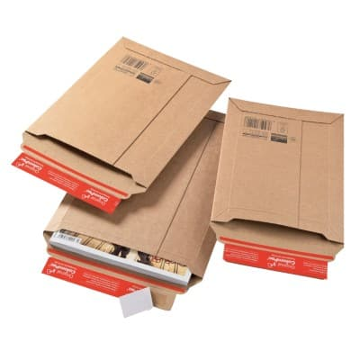 ColomPac Well Safe 2 Envelope Brown 185 x 270 mm