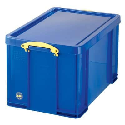 Really Useful Boxes Storage Box With lid Blue 44 x 71 x 38 cm