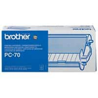 Brother Ribbon PC-70 Black