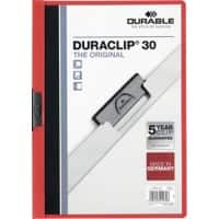 DURABLE Clip File 2200-03 A4 Red