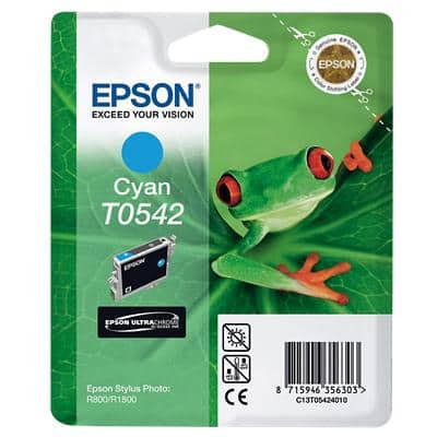 Epson T0542 Original Ink Cartridge C13T05424010 Cyan