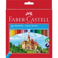 Faber-Castell Colouring pencils 111224 Assorted Pack 24