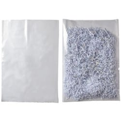 Niceday Heavy Duty Polythene Bags Clear 457 x 610 mm 100 Per Pack
