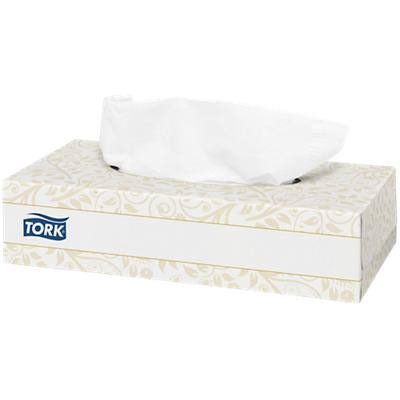 Tork Facial Tissue Box F1 2 Ply 100 Sheets