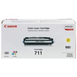 Canon 711 Original Toner Cartridge Yellow