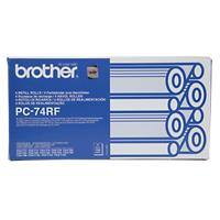 Brother Transfer Belt PC74RF 23 x 6 x 12 cm Black Pack of 4