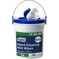 Tork Cleaning Cloths White N/A Pack of 58
