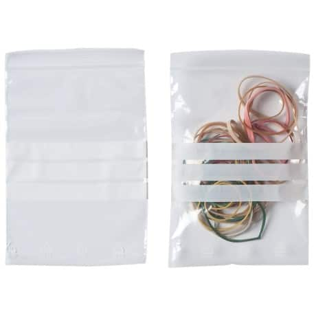 Niceday Grip Seal Bag Clear 102 x 140 mm 100 pieces