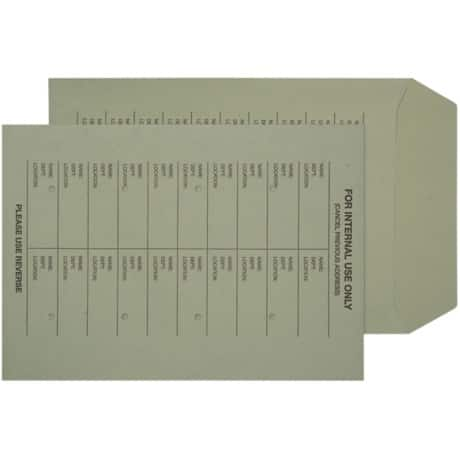 Niceday Internal Mail Envelopes c4 120gsm Green plain ungummed 250 pieces